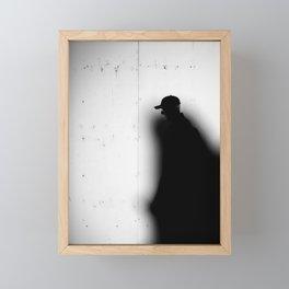 Captured by Shadow Framed Mini Art Print
