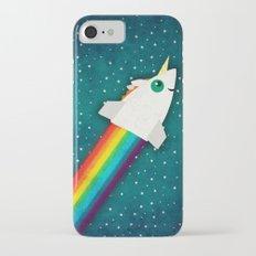 Unicorn Rainbow Rocket Slim Case iPhone 7