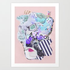 MAGIC WONDERLAND Art Print