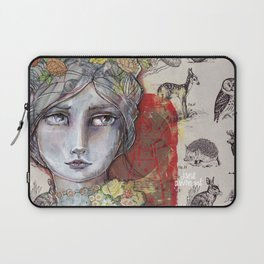 Nature Study by Jane Davenport Laptop Sleeve