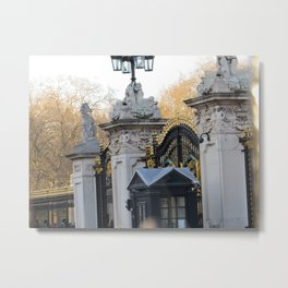Buckingham Gates Metal Print