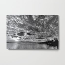 A World Without Color Metal Print