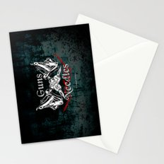 guns 'n' needles Stationery Cards