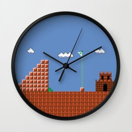home at last! Original Mario Brothers Castle Wall Clock