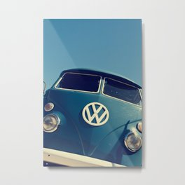 VW Throwback Metal Print