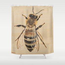 Bee III (Sampson) Shower Curtain