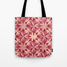 Graphical Flowers Tote Bag