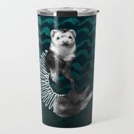 Ferret Slinky Travel Mug