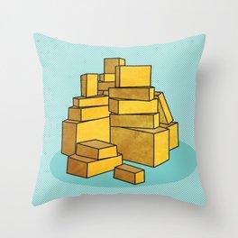 Stax Throw Pillow