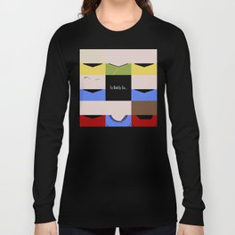 To Boldy Go - square - Star Trek The Original Series TOS - startrek Trektangle Kirk Spock Bones  Long Sleeve T-shirt