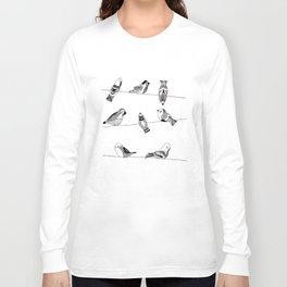 Polish birds Long Sleeve T-shirt