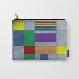 Mid-Century Modern Art - Rainbow Pride 1.0 Carry-All Pouch