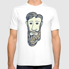 Why the Long Face SMALL White Mens Fitted Tee