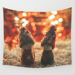 156 - Christmas memories Wall Tapestry