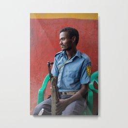 Habesha scout. Ethiopia. Metal Print