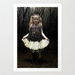 Dark Child Art Print