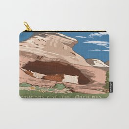 Vintage poster - Canyons of the Ancients Carry-All Pouch