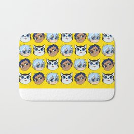 AoKuro family Bath Mat