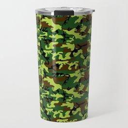 camouflage militaire Travel Mug