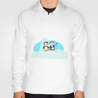 fishing Hoodies featuring Fishing by Soni Raj Designs