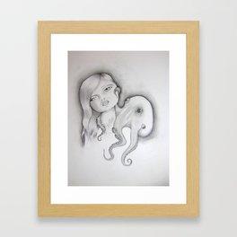 popgirl Framed Art Print