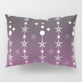 Stars and Night Sky - Purple Gradient Shapes Pillow Sham