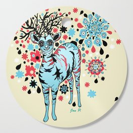 Hello Deer Cutting Board