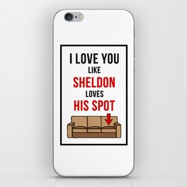 That's my spot! iPhone Skin