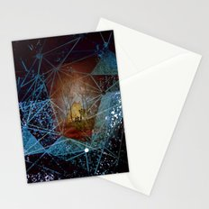 somewhere in space Stationery Cards