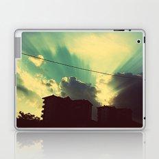 sun goes down Laptop & iPad Skin