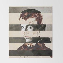 Egon Schiele's Self Portrait & Anthony Perkins Throw Blanket