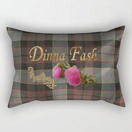 Dinna Fash (Outlander) Rectangular Pillow