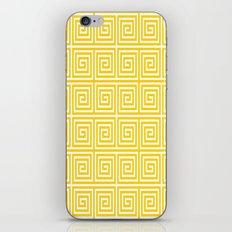 Acropolis 1 Yellow iPhone & iPod Skin