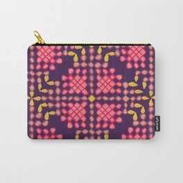 Lamp Kolam Expanded Carry-All Pouch