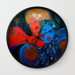 Sirin and Fevronia Wall Clock