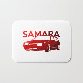 Lada Samara - classic red - Bath Mat