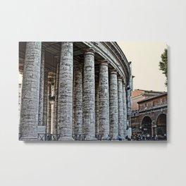 Vatican City Marble Metal Print