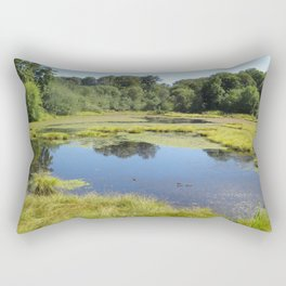 Billy J. Frank Nisqually National Wildlife Refuge, Reflection Rectangular Pillow