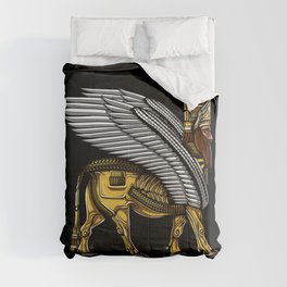 Alien Anunnaki God Ancient Sumerian King Comforters