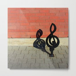 Symphony in Brick Major Metal Print