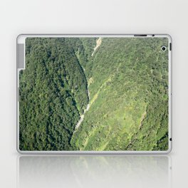 Flying over Milford Sound Laptop & iPad Skin