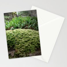 plant moss texture Stationery Cards