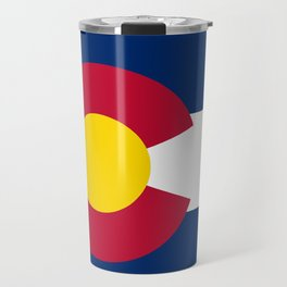 Colorado State Flag Travel Mug