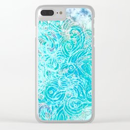 efflorescent #63.2 Clear iPhone Case