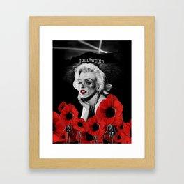 Hollyweird. Framed Art Print