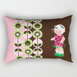 little miss coco Rectangular Pillow