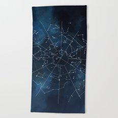 Celestial Map Beach Towel