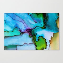 Colorful Watercolor Painting Canvas Print