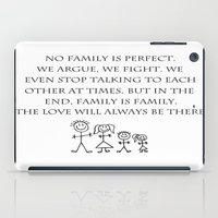 family iPad Cases featuring Family by Frankie Cat