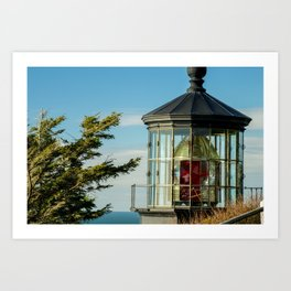 Cape Meares Lighthouse Art Print